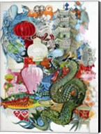 Folk Dragon Fine-Art Print
