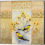 Summer Goldfinches Fine-Art Print