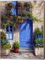 Provence Blue Door Fine-Art Print