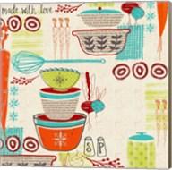 Retro Kitchen Fine-Art Print