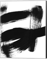 BW Brush Stroke II Fine-Art Print