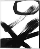 BW Brush Stroke III Fine-Art Print