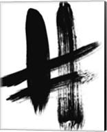 BW Brush Stroke V Fine-Art Print