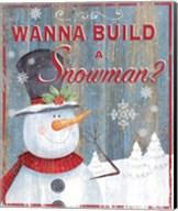 Build a Snowman Fine-Art Print