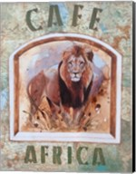 Cafe Africa Fine-Art Print