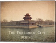 Vintage The Forbidden City in Beijing, China, Asia Fine-Art Print