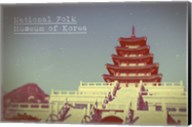 Vintage National Folk Museum of Korea, Asia Fine-Art Print