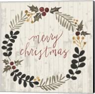 Rustic Christmas III Fine-Art Print