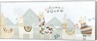 Llama Squad III Fine-Art Print
