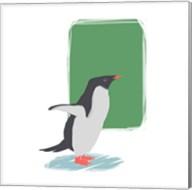 Minimalist Penguin, Boys Part I Fine-Art Print