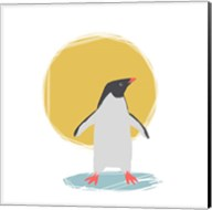 Minimalist Penguin, Boys Part II Fine-Art Print