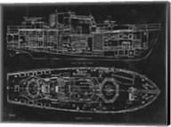 Boat Blueprint 1 Fine-Art Print