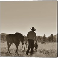 There Will Be Peace In The Valley (sepia) Fine-Art Print