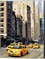 New York Taxi 1 Fine-Art Print