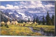 Nez Perce Summer Camp Fine-Art Print