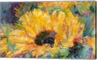 Blue Sunflowers Fine-Art Print