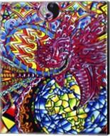 African Dragon Fine-Art Print