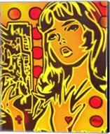 Comic Girl Fine-Art Print