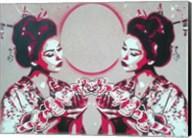 Mirror Geisha Fine-Art Print