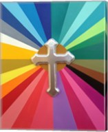 Rainbow Cross Fine-Art Print