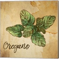 Oregano on Burlap Fine-Art Print