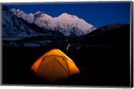 First Light on Mt Everest From the Kangshung, Tibet Fine-Art Print