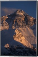 Mt Everest at Sunset From Rongbuk, Tibet Fine-Art Print