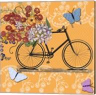 Flower Market Bicycle Fine-Art Print