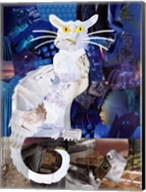 Le Chat Blanc Fine-Art Print