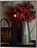 Basket and Blossoms Fine-Art Print