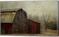 the Red Barn Fine-Art Print