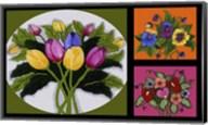 Flower Collage Fine-Art Print