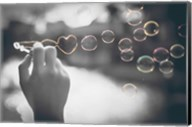 Pop of Color Rainbow Love Bubbles Fine-Art Print