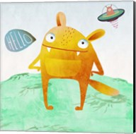 Alien Friend #4 Fine-Art Print