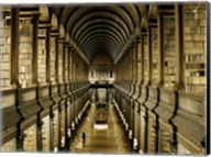 Interior of the Library, Trinity College, Dublin Fine-Art Print