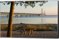 Mackinac Bridge, Mackinaw City Fine-Art Print
