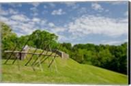 Battlefield bunker, Vicksburg National Military Park, Mississippi Fine-Art Print