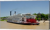 Mississippi, Vicksburg American Queen cruise paddlewheel boat Fine-Art Print