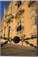 Caserne, Place du Palais, Monte Carlo, Monaco Fine-Art Print