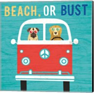 Beach Bums Bus Fine-Art Print