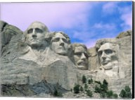 View of Mount Rushmore National Monument Presidential Faces, South Dakota Fine-Art Print