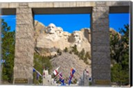 Entrance to Mount Rushmore National Memorial, South Dakota Fine-Art Print