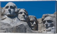 Blue Skies over Mount Rushmore, South Dakota Fine-Art Print