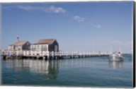 Straight Wharf water taxi, Nantucket, Massachusetts Fine-Art Print