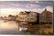 Massachusetts, Nantucket Island, Old North Wharf Fine-Art Print
