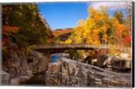 Bridge, Swift River Waterfalls, New Hampshire Fine-Art Print