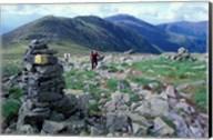 Backpacking on Gulfside Trail, Appalachian Trail, Mt Washington, New Hampshire Fine-Art Print