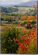 View from NH Route 145 in Stewartstown, New Hampshire Fine-Art Print