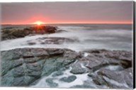 Sunrise near Brenton Point State Park, Newport, Rhode Island Fine-Art Print