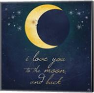 I Love You To The Moon 2 Fine-Art Print